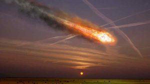 soñar con meteorito