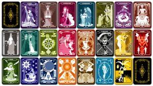 soñar con cartas del tarot