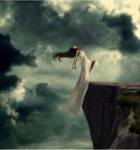 soñar caer en el abismo
