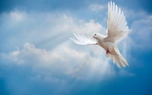 soñar con el espíritu santo