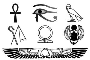 soñar con símbolos egipcios