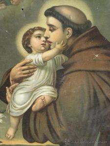 soñar con San Antonio de Padua