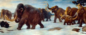soñar con mamuts