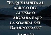 soñar con el salmo 91