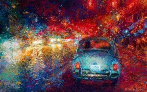 soñar con pinturas