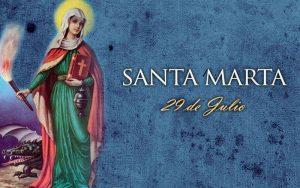 soñar con santa martha