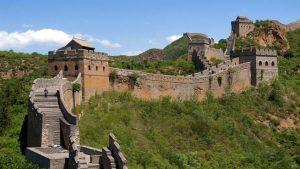 soñar con la muralla china