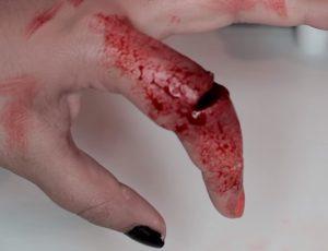 soñar que me corto un dedo